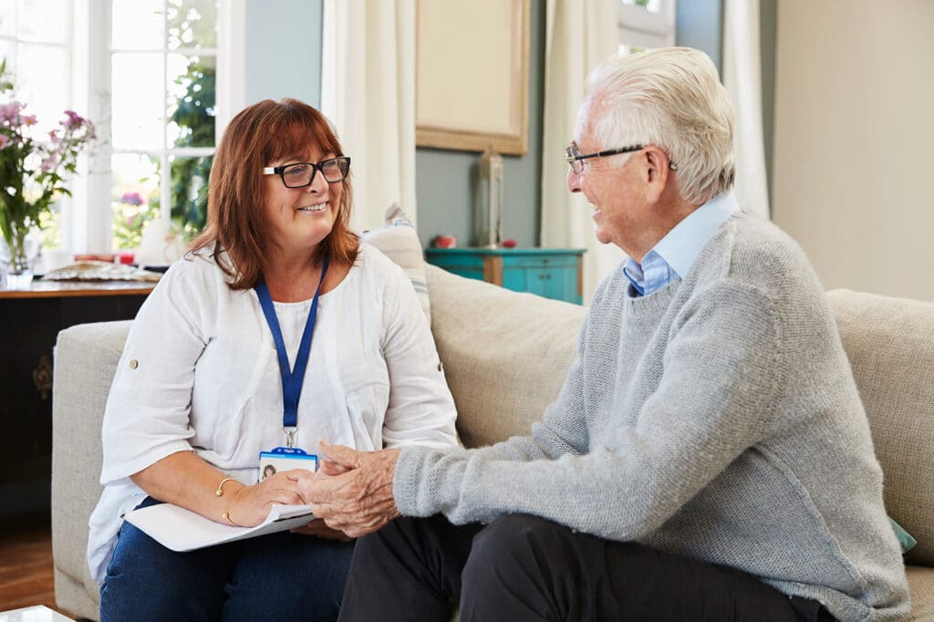 Our Grove Park Hospice family is available to speak with you about care at anytime by phone orin person.