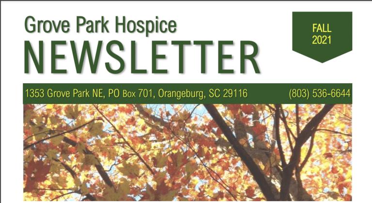 Grove Park Hospice Newsletter